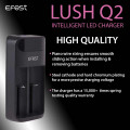 EFEST LUSH Q2 Intelligent LED 2 Slots Charger