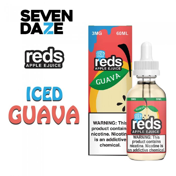 7 DAZE REDS GUAVA ICED- 60ml