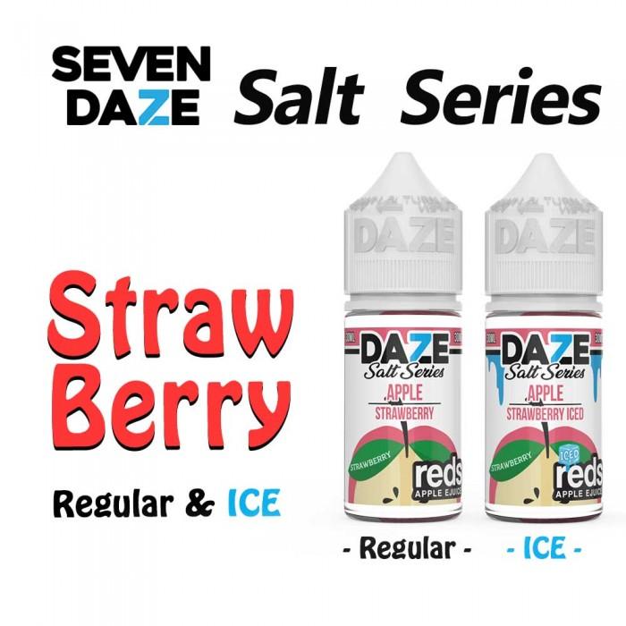 7 DAZE SALT SERIES Strawberry [ 30 ml ]