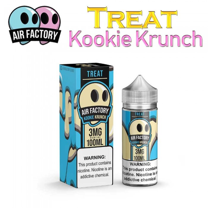 Air Factory - Treat - Kookie Krunch - 100ml