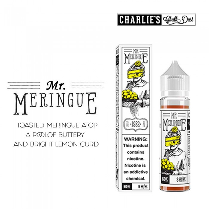 MERINGUE _ MR. MERINGUE  - 60ml