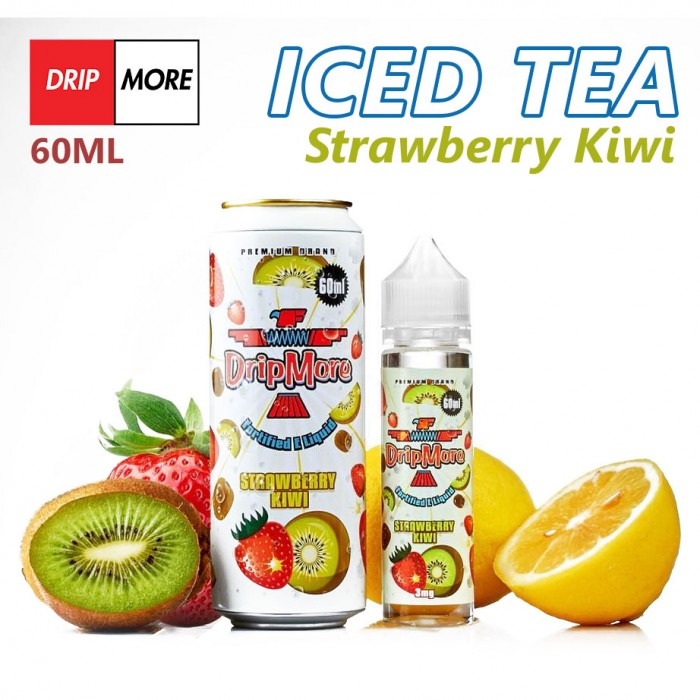 Dripmore Strawberry Kiwi - 60ml
