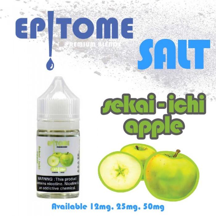 EPITOME _ SALT _ Sekai Ichi Apple _ 30ml