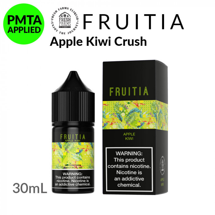 Fruitia Salt Apple Kiwi Crush [30ml]