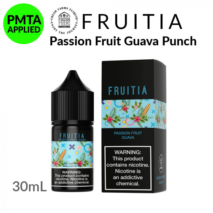 Fruitia Salt Passion Fruit Guava Punch [30ml]