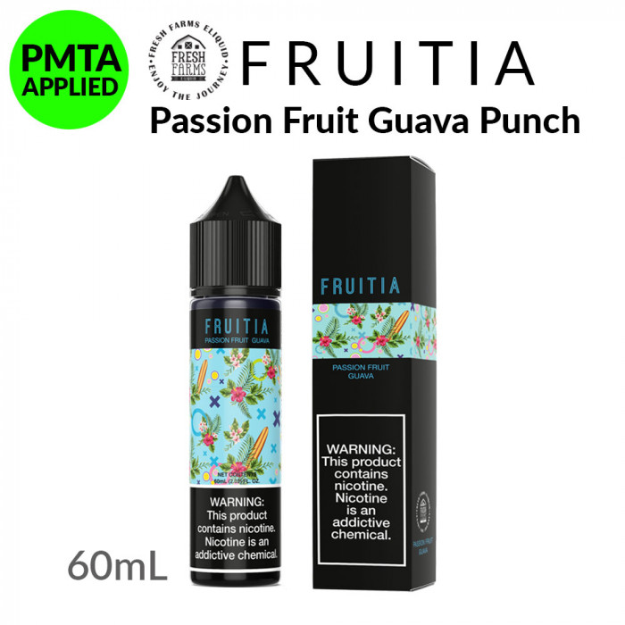 Fruitia Passion Fruit Guava Punch [60ml]