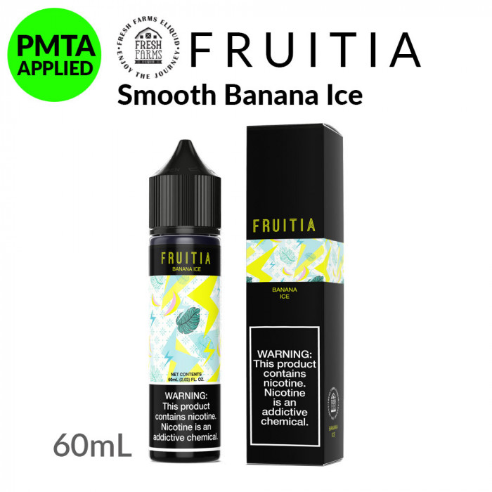 Fruitia Smooth Banana Ice [60ml]