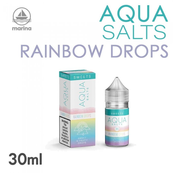 AQUA Salt _ Rainbow Drops 30ml