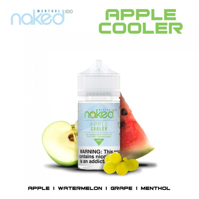 Naked 100 - Apple Cooler - 60ml