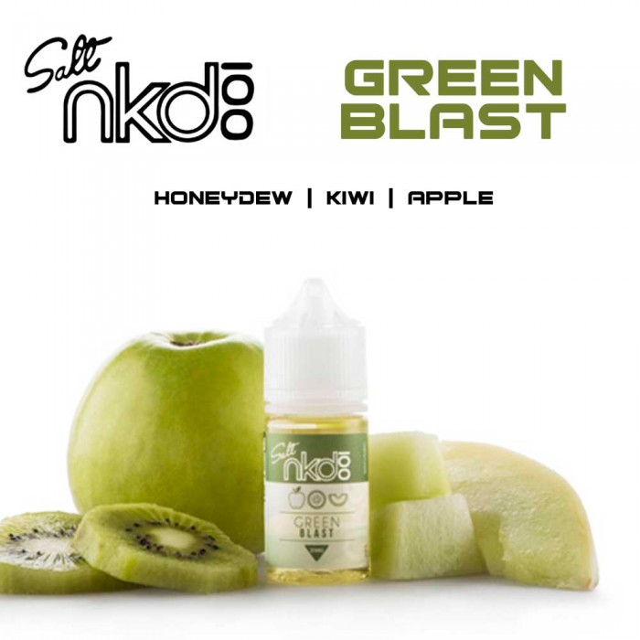 NKD 100 Salt - Green Blast - 30ml