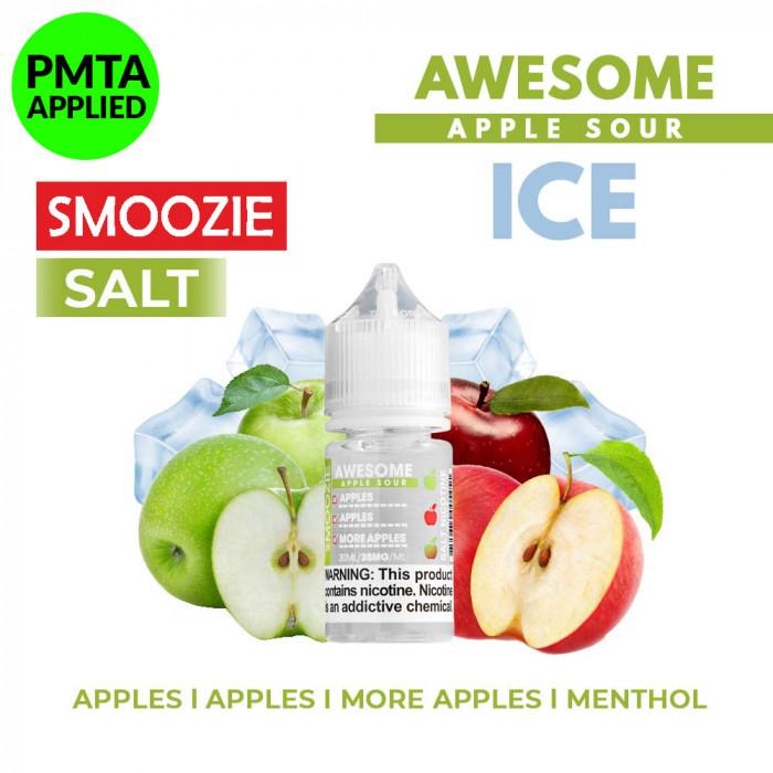 Smoozie Salt _ Awesome Apple Sour ICE