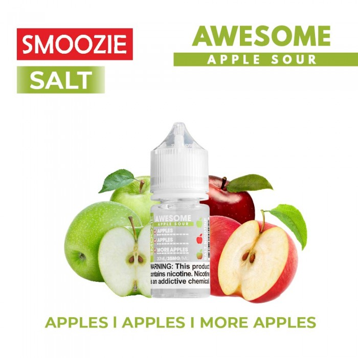 Smoozie Salt _ Awesome Apple Sour