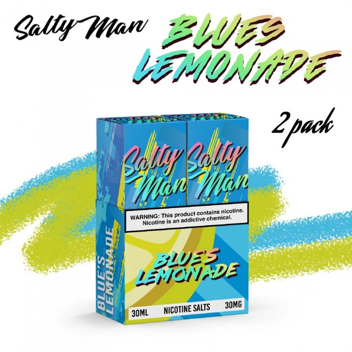 Salty Man Blue's Lemonade [ 2 Bottle, 30ml ]