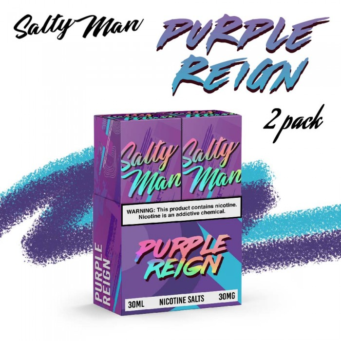 Salty Man Purple Reign [ 2 Bottle, 30ml ]