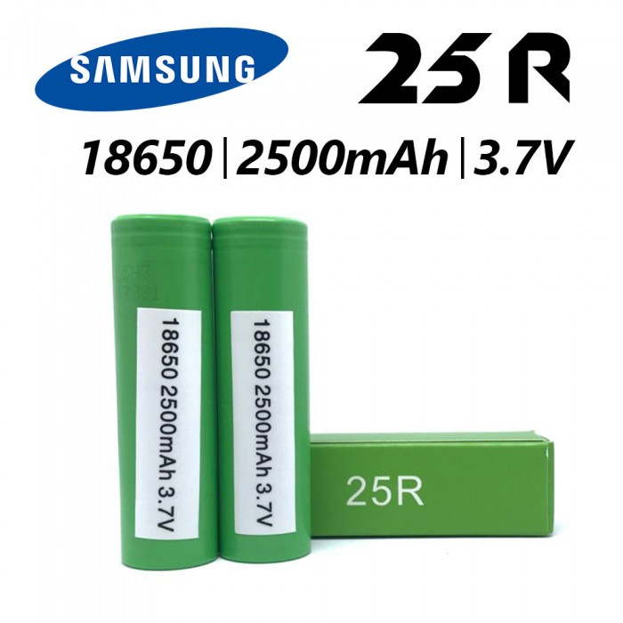 Samsung 25R 18650 2500mah