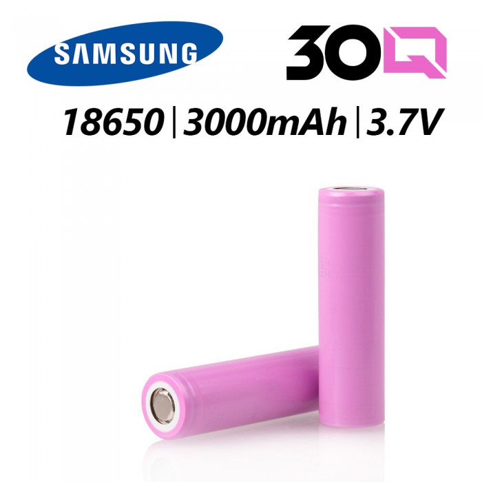 Samsung 30Q  3000mAh INR18650 Battery 1pc