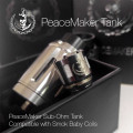 Squid Industries - PeaceMaker Sub-Ohm Tank  (MSRP $32.99)