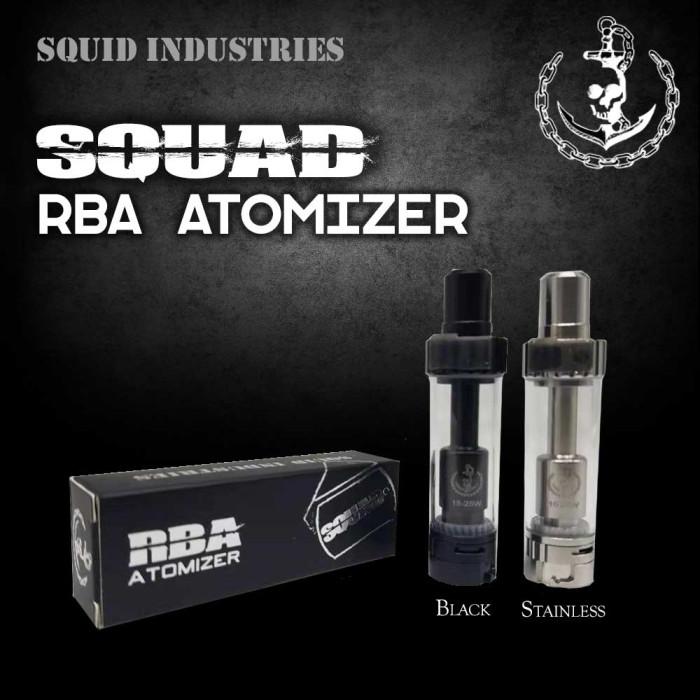 Squid Industries _ Squad RBA Atomizer [ 1 pc ]