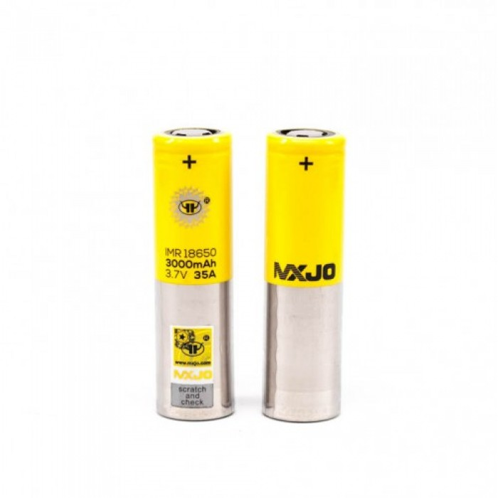 MXJO 18650 3000mAh 35A Flat Top Battery (from Taiwan) 1pcs