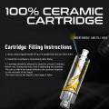100% CERAMIC OIL TANK [ 1.0 ml ] [100pcs/Box]