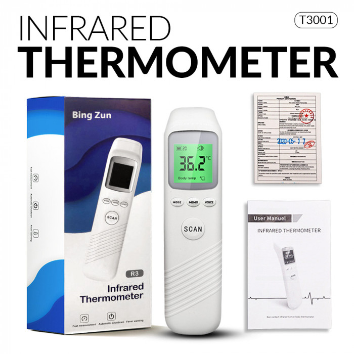 Infrared Thermometer  [ 1 pc ] _ T3001