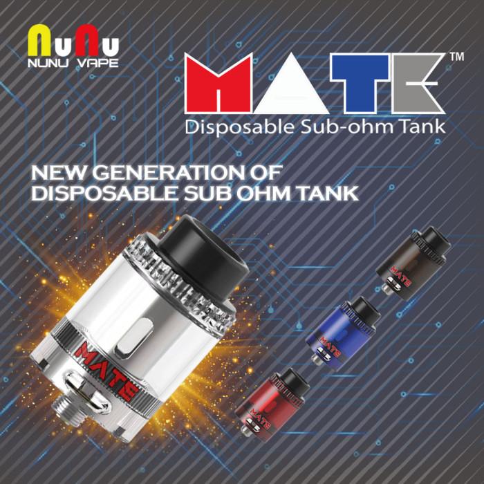 NuNu VAPE _ MATE Disposable Sub-ohm Tank  [ 3 Pcs ]