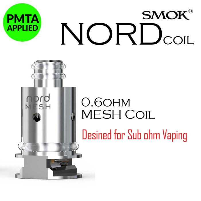 SMOK NORD 0.6 Ω Mesh Coil [ 5 pcs ]