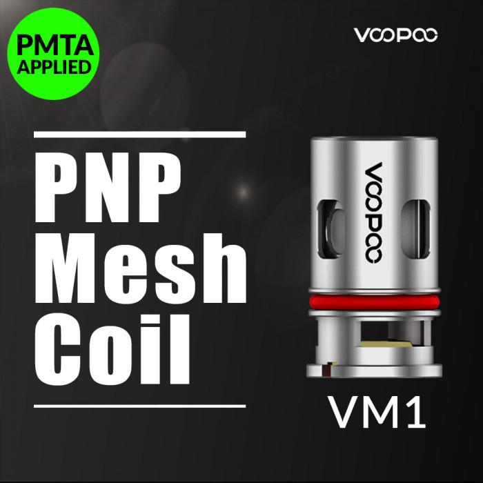 VOOPOO PnP VM1 Coil [ 0.3 ohm, 5 pcs / Pack ]