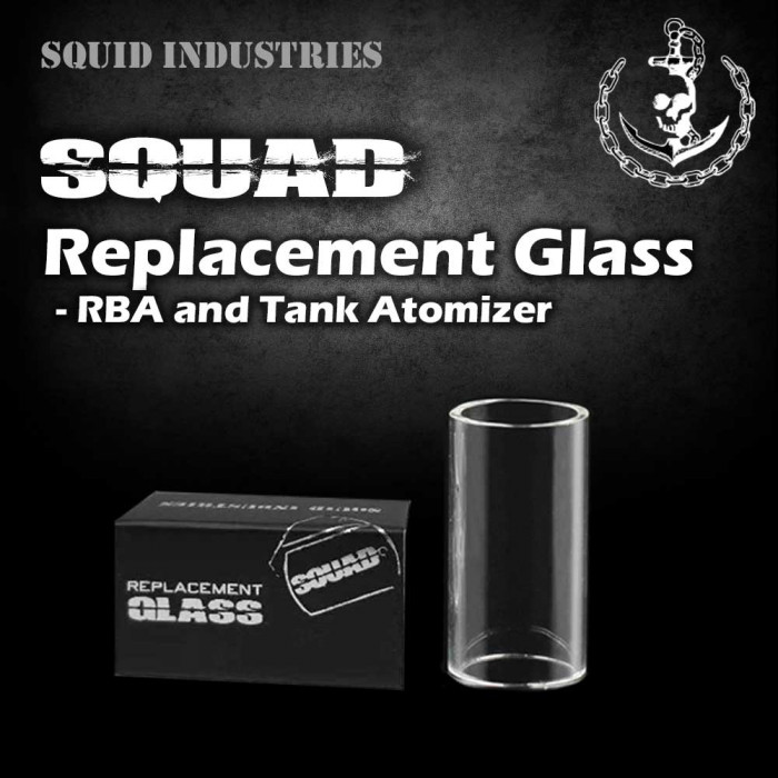 Squid Industries _ Squad Replacement Glass [ 1 pc ]