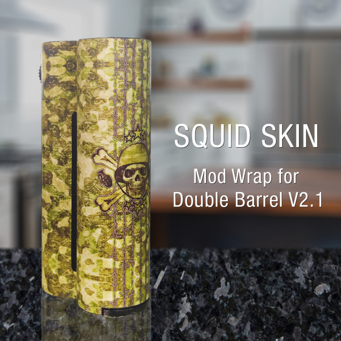 Squid Skin - Mod Wrap for Double Barrel V2.1